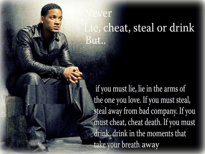 Great Quote by Will Smith with Picture !!