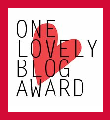 One Lovely Blog Nomination