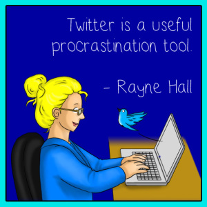 Rayne Hall - Writing Meme - Twitter