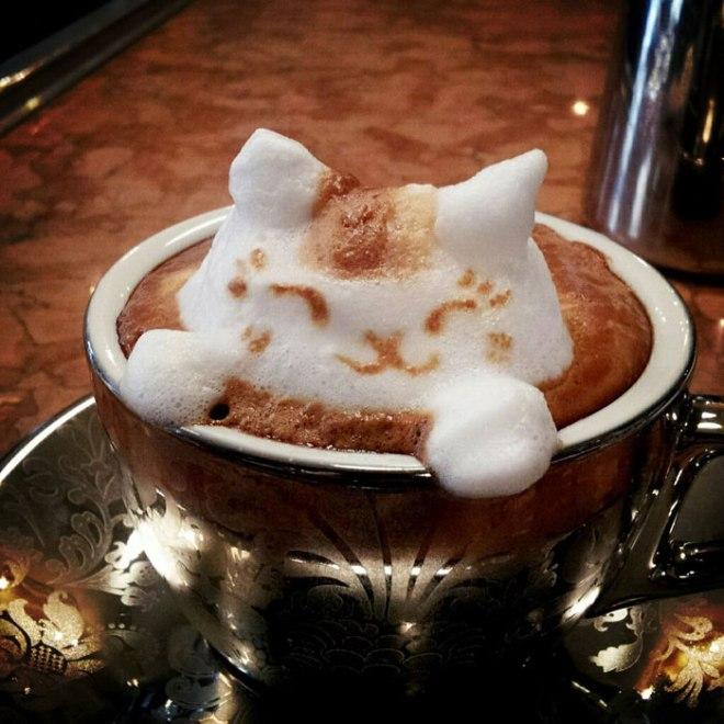 latte coffee art kazuki yamamoto george_10g twitter (1)