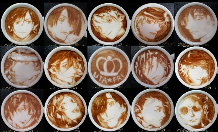 latte coffee art kazuki yamamoto george_10g twitter (17)