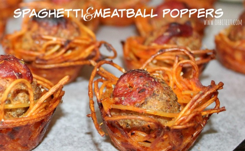 Spaghetti and meatball poppers just blew all other bite-size snacks out of thewater