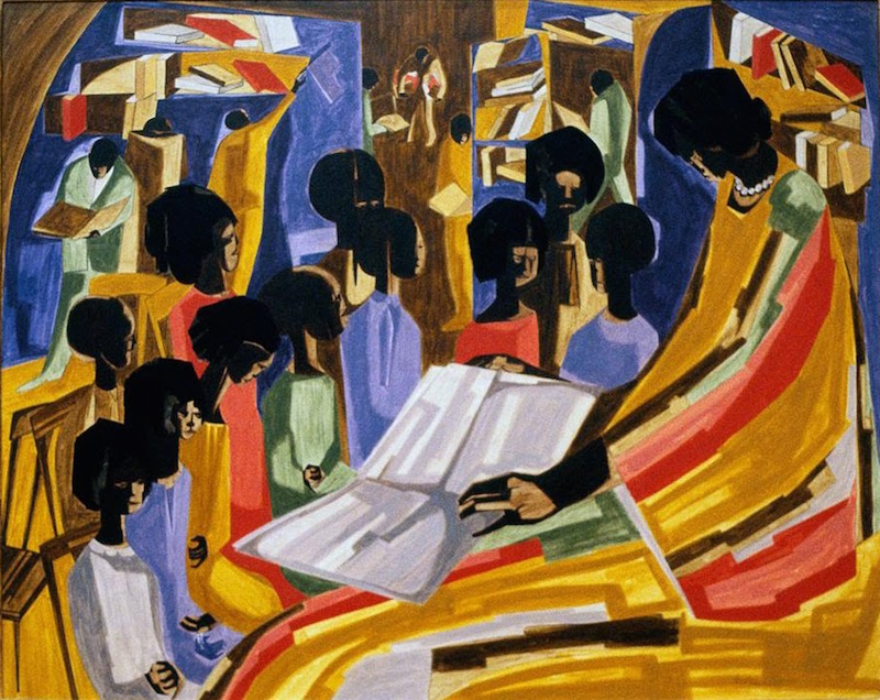 jacob lawrence library 1