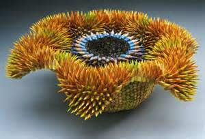 th Sea urchin made our of pencils