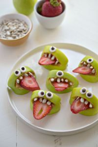 Come on, even kids will eat this spooky snack!