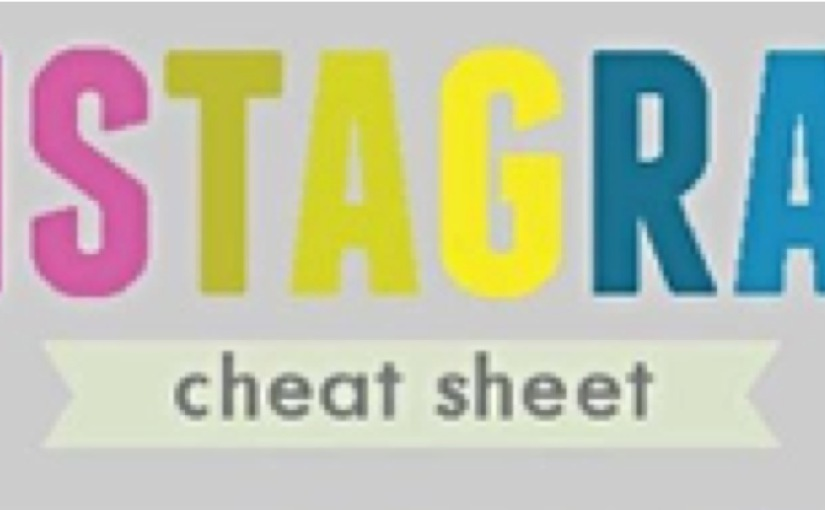 #Instagram Cheat Sheet Infographic…