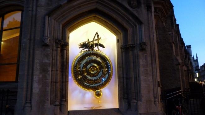 The Corpus Chronophage at dusk