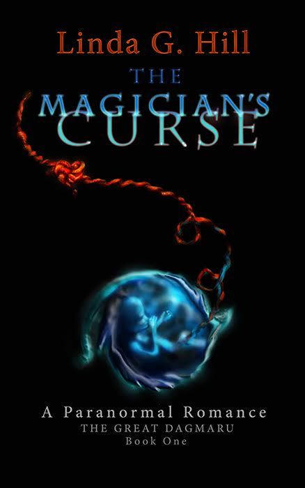 Book Cover for 'The Magicians Curse' by Author Linda G.Hill