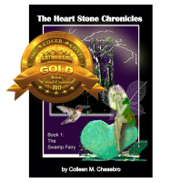 The Heart Stone Chronicles: The Swamp Fairy - 1st Place in the Authors DB 2017 Book Cover Contest