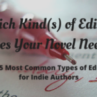 Which Kind(s) of Editing Does Your Novel Need?