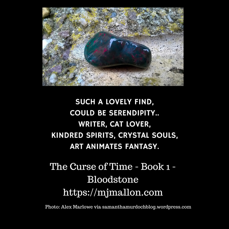 Such a lovely find,Could be serendipity..Writer, cat lover,Kindred spirits, crystal souls,Art animates fantasy.•%2