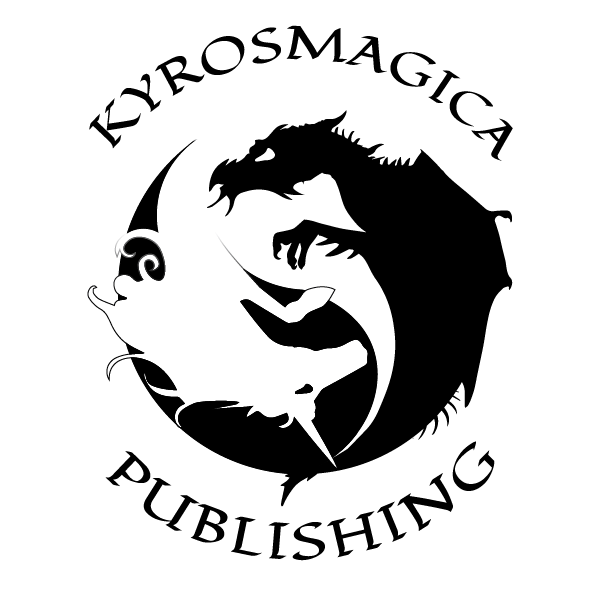 Kyrosmagica - black on white