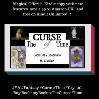 The Curse of Time #YA #Fantasy #Offer 1.99 Amazon UK
