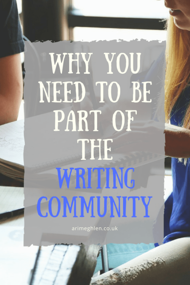 Why you need to be part of the writing community. Group of writers working together. Friends. Connections.