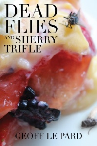 Dead Flies and Sherry Trifle is a coming of age story. Set in 1976 the hero Harry Spittle is home from university for the holidays. He has three goals: to keep away from his family, earn money and hopefully have sex. Inevitably his summer turns out to be very different to that anticipated.