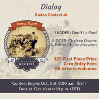 Carrot Ranch Dialog Rodeo Contest #1 -  The Winning Entries and My Flash