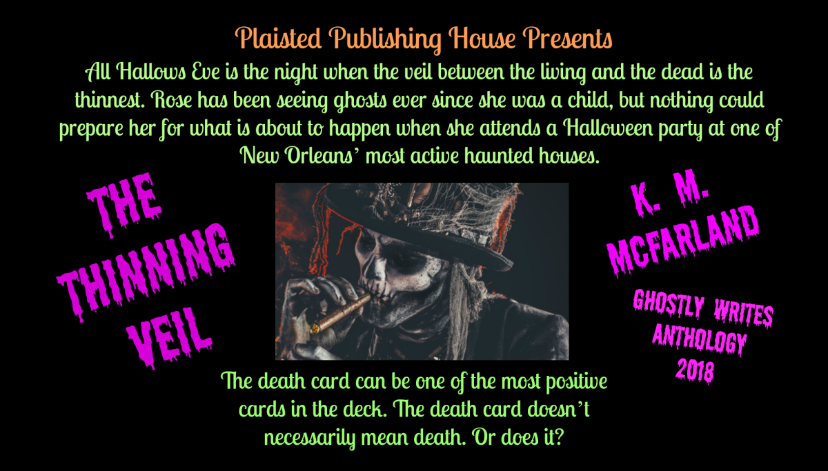 Guest Author: K. M. McFarland - Ghostly Writes Anthology 2018