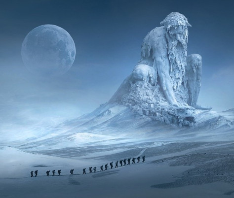 #Shortstory: The Old Man of Snow and The SnowSnake