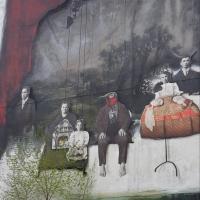 Grafitti Murals - Montreal Canada