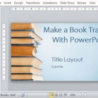 Make a Book Trailer with PowerPoint