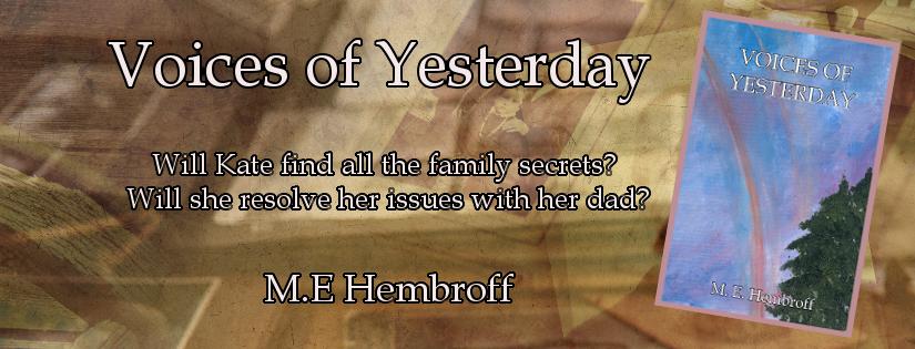 M E Hembroff: Voices of Yesterday #NewRelease #PlaistedPublishingHouse