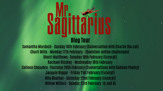 Mr. Sagittarius:  Announcing My Blog Tour Hosts #Poetry #Prose #Photography