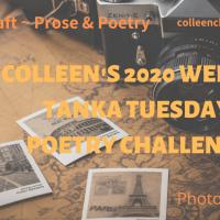 Colleen's 2020 Weekly #Tanka Tuesday #Poetry Challenge No. 174 #PhotoPrompt #Haiga #Haiku #Tree #Nature