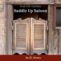 Saddle Up Salloon: Blog Blustering #Flash #Fiction #Humour